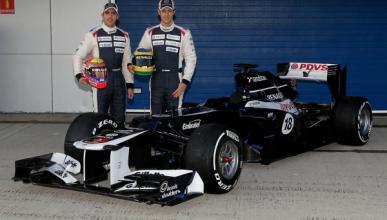El nuevo Williams FW34, presentado en el Circuito de Jerez