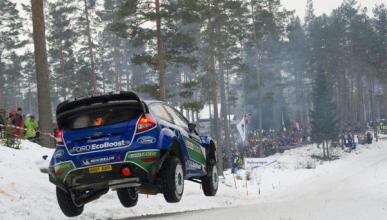 Sordo abandona el Rally de Suecia 2012 y Latvala es líder