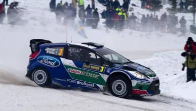 Latvala se mantiene líder en el Rally de Suecia 2012