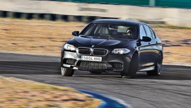 BMW M5 F10 biturbo 560 CV cruzada circuito jarama