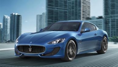Maserati GranTurismo Sport delantera