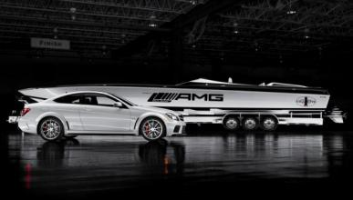 AMG Black Series 50'Marauder Cigarette coche lateral