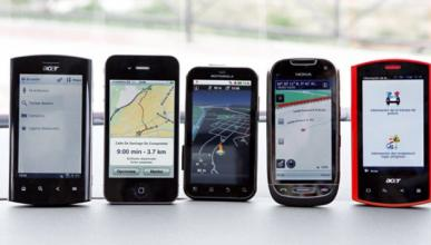 Comparativa de navegadores GPS de móvil para tu coche