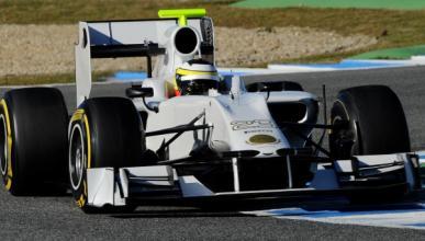 El nuevo HRT de Fórmula 1, retrasado por el 'crash-test'