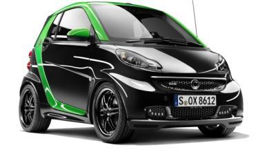 Delantera del Smart Brabus electric drive