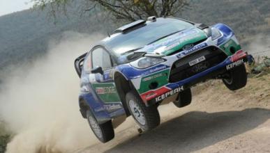Solberg primer líder del Rally de México 2012