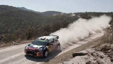 Loeb es el nuevo líder del Rally de México 2012