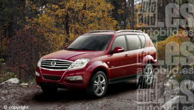 nuevo SsangYong Rexton II 2012 frontal