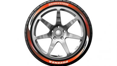 Llegan los neumáticos con publicidad