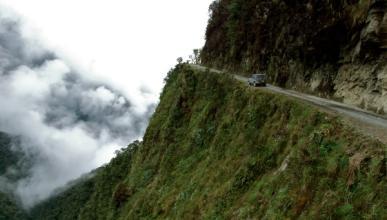 Camino de Los Yungas: la Carretera de la Muerte