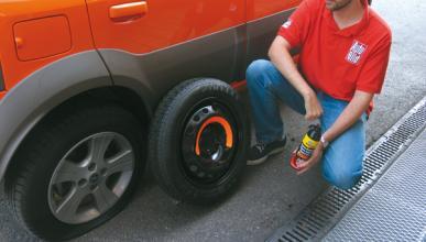 Uno de cada cuatro conductores no sabe cambiar una rueda