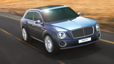 Delantera del Bentley EXP 9 F Concept