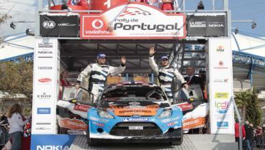 Hirvonen fuera, Otsberg gana el Rally de Portugal 2012