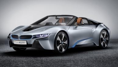 BMW i8 Concept Spyder frontal