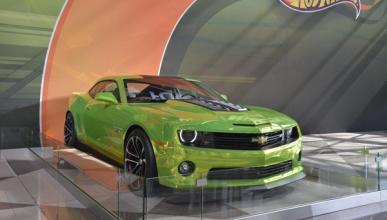 Chevrolet Camaro Hot Wheels Concept salon nueva york 2012