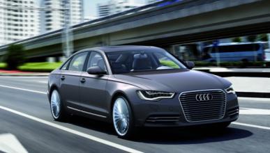 Audi A6 L e-tron concept delantera