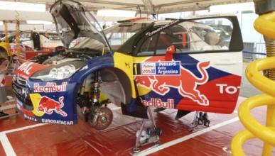 Loeb consigue el mejor tiempo en el Rally de Argentina 2012