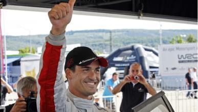 Dani Sordo logra su primer podio con Mini