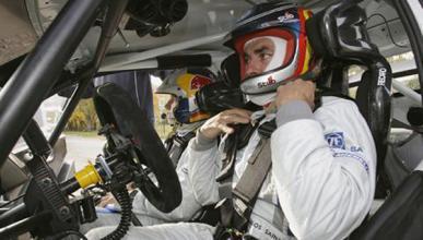 Carlos Sainz prueba el Volkswagen Polo R WRC