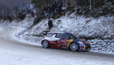 Loeb, líder tras la tercera etapa del Rally de Montecarlo