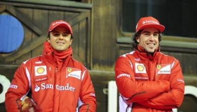 Alonso y Massa entrenan su físico en Lanzarote
