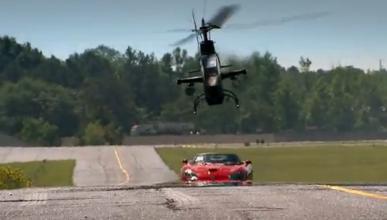 Top Gear USA: un Viper contra un helicóptero Cobra