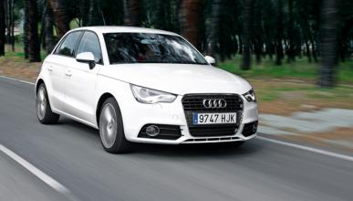 Delantera del Audi A1 Sportback