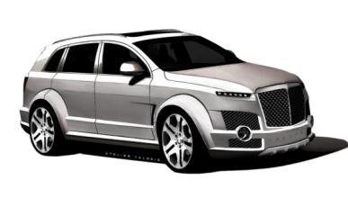 Bentley EXP 9 F Tresor de Armortech