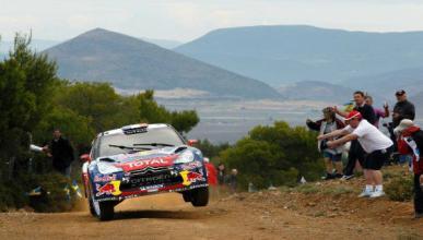 Sebastien Loeb gana por tercera vez el Rally Acrópolis