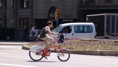 Los ciclistas reclaman más controles de velocidad