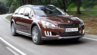 Delantera del Peugeot 508 RXH