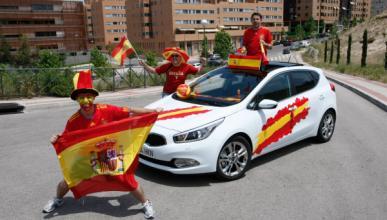 Kia cee´d, el coche de la Eurocopa 2012