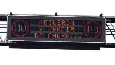 Habrá velocidad variable en autopistas y autovías en 2012