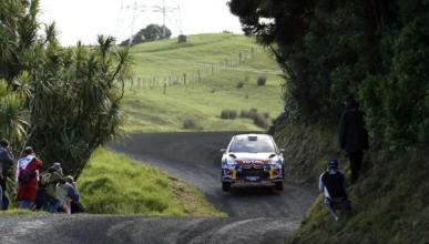 Loeb sigue líder en el Rally de Nueva Zelanda 2012
