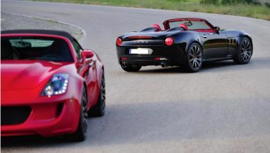 Tauro V8 Spider: deportivo con acento 'castellano'