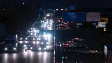 Las carreteras mal iluminadas provocan más accidentes