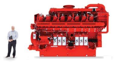 Un motor de 4.000 CV en el Goodwood Festival 2012