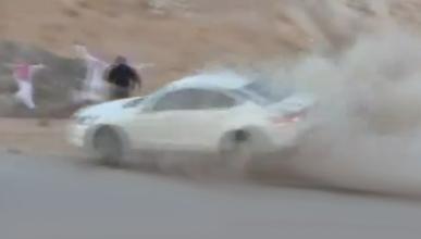 Un 'driftero', condenado a muerte en Arabia Saudí