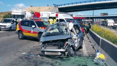 El 45% de los conductores fallecidos dieron positivo