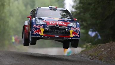 Loeb domina el primer día en el Rally de Finlandia 2012