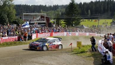 Citroën consigue otro doblete en el Rally de Finlandia 2012