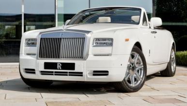 Los Rolls Royce de Londres 2012, con un logo especial