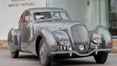 El Bentley 'Embiricos' Special visita la fábrica de Crewe