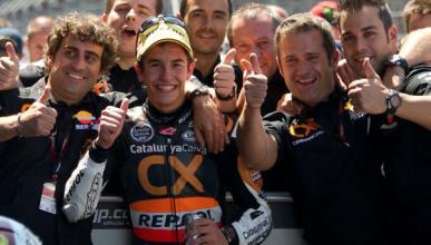 GP de Indianápolis 2012: Dominio de Márquez en Moto2