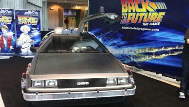 El DeLorean de Regreso al Futuro, vendido por 413.000 euros