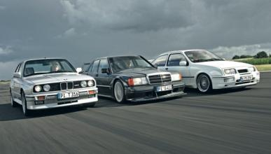 BMW M3 vs Sierra Cosworth vs Mercedes 190 E 2.5 16 Evo II