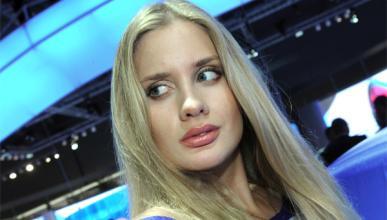 Las chicas del Salón de Moscú 2012