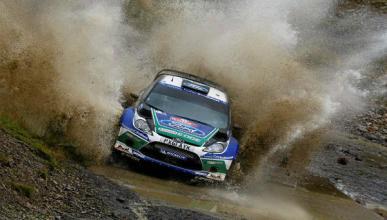 Latvala amplia su ventaja en el Rally de Gales 2012