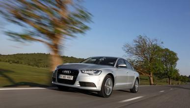 Audi-A6-Hybrid-dinámica-frontal