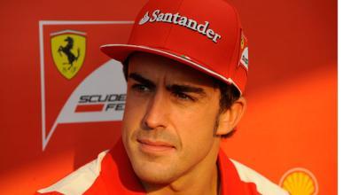 Fernando Alonso, contento hasta en Twitter